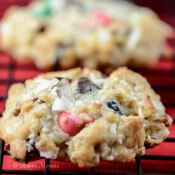 Loaded Christmas Cowboy Cookies #BRMHolidays