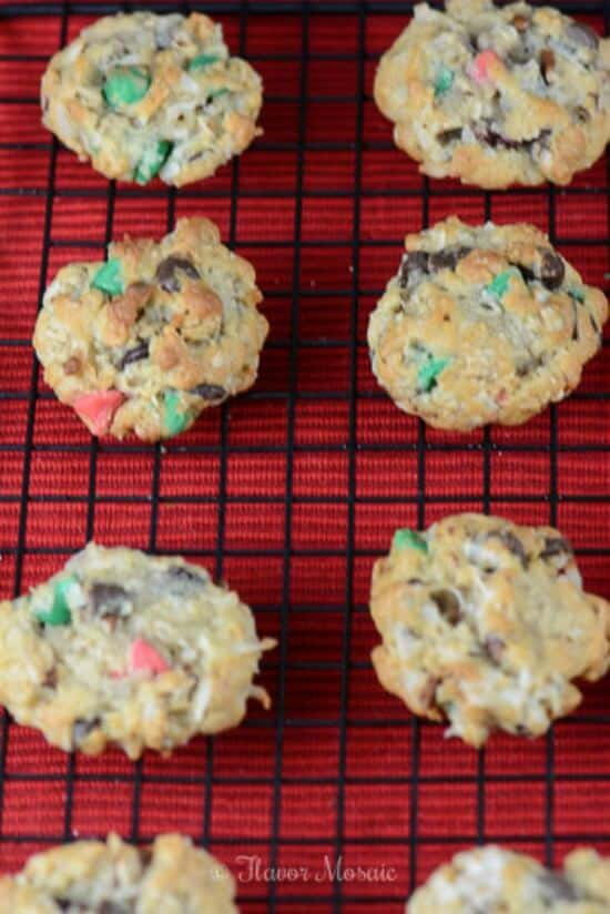 Loaded Christmas Cowboy Cookies, which could also be called Kitchen ...