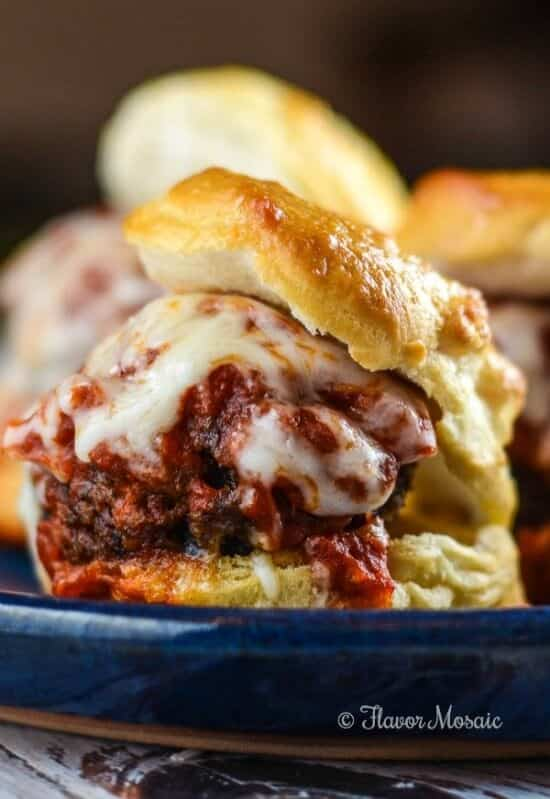 Meatball-Biscuit-Sliders
