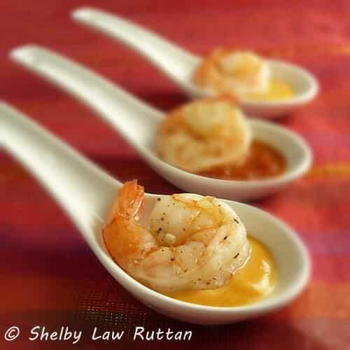 Shrimp Tasting Spoons