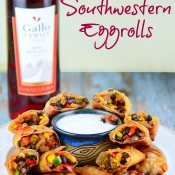 Baked Southwestern Eggrolls