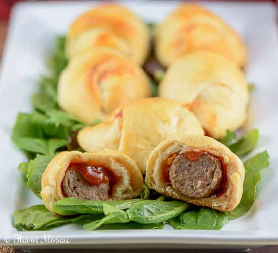 Dr Pepper Barbecue Meatball Crescents-2
