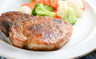 Baked Pepper Sage Pork Chops