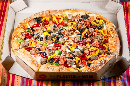 Pizza Hut Pizza-Flavor of Now