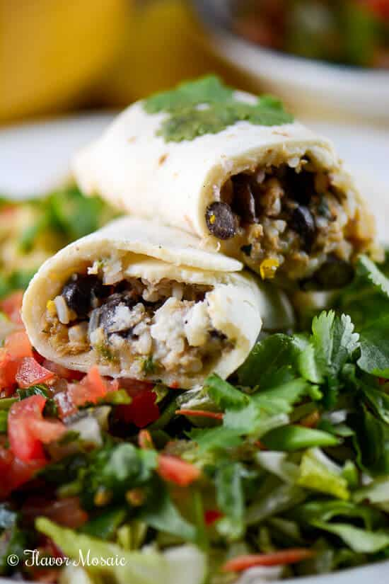 A Gluten Free Meal with Udi's Chicken Burritos