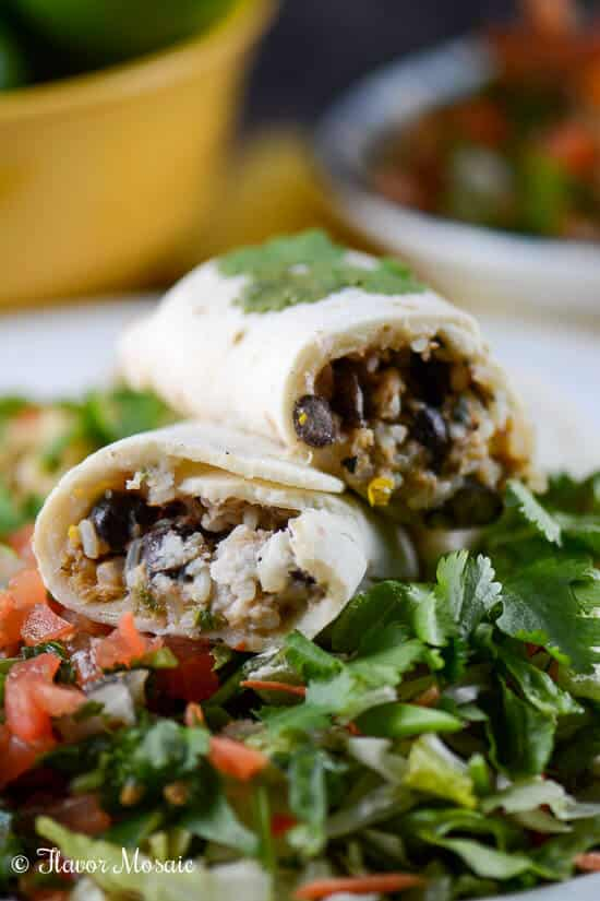 Gluten-Free Meal with Udi's Chicken Burritos