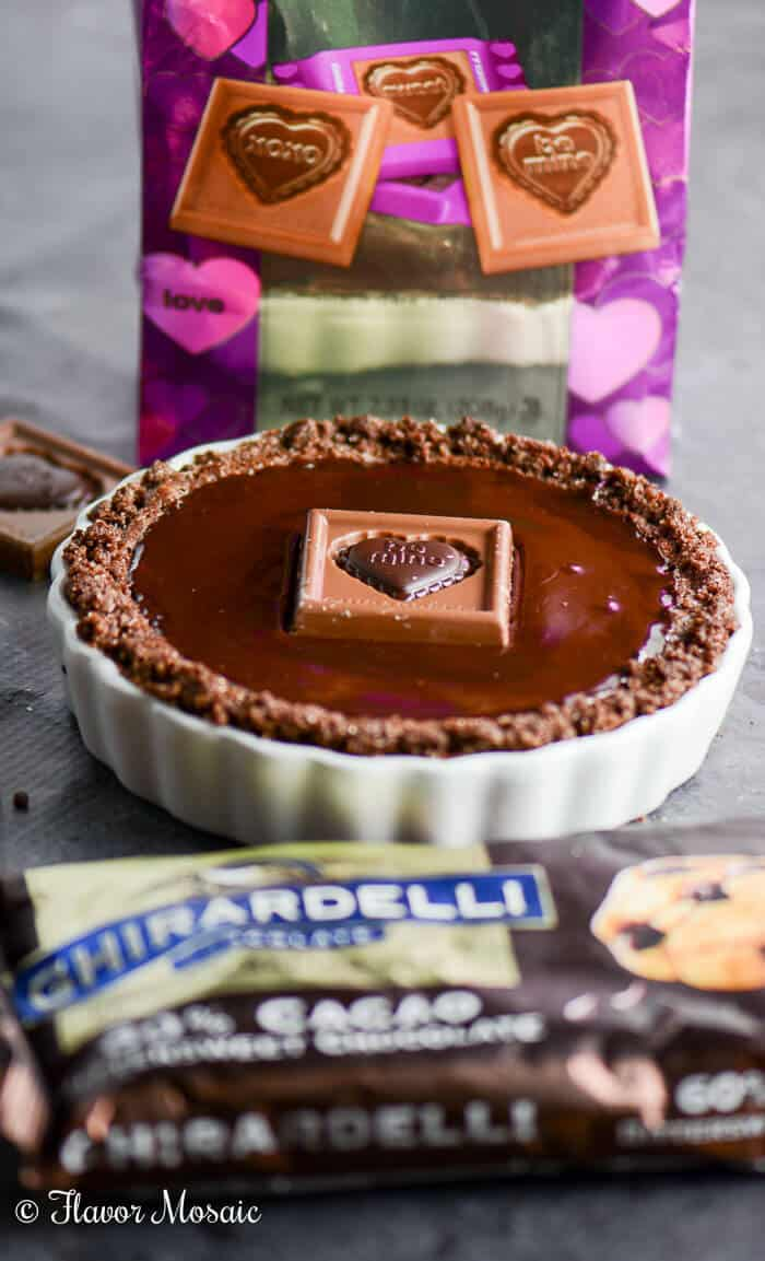 ... Chocolate Glazed Chocolate Tarts? Don't be shy. Leave a comment, and