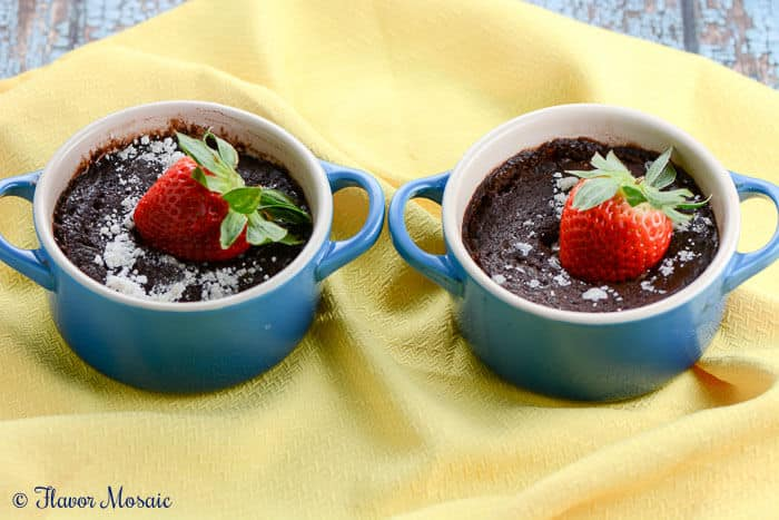 Chocolate Mug Cake for Two