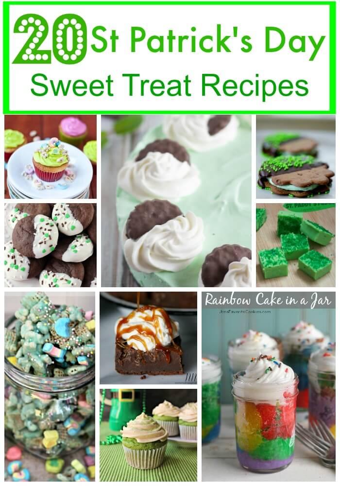 20 St Patrick's Day Sweet Treat Recipes