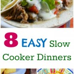 8 Easy Slow Cooker Recipes