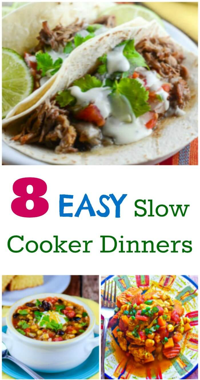 8 Easy Slow Cooker Dinners-Title