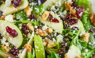 Apple Walnut Cranberry Salad-5-800x1000