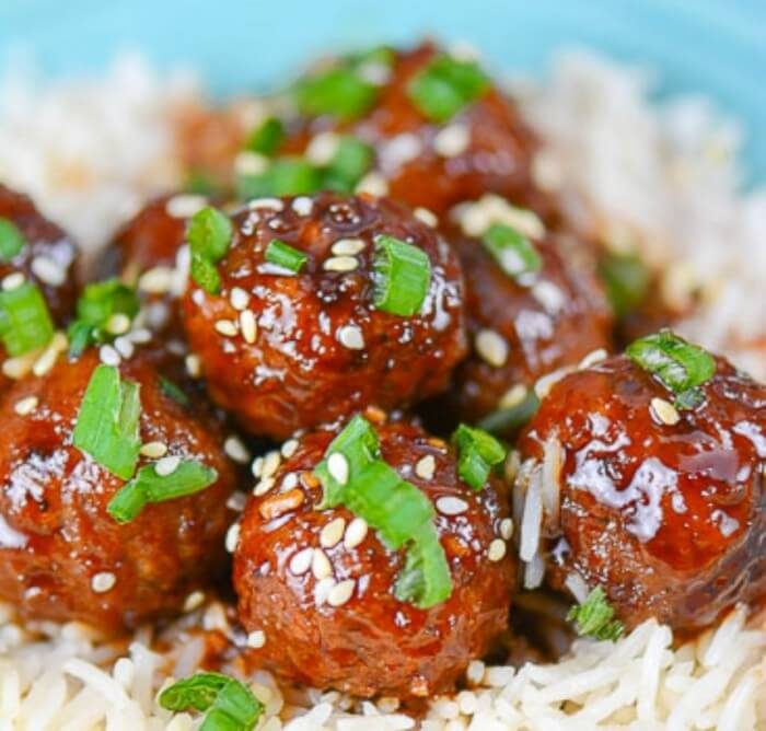 Asian Sesame Meatballs