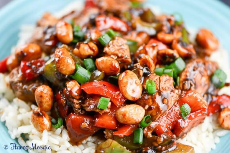 Easy Kung Pao Chicken Recipe Flavor Mosaic