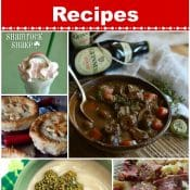 St Patrick's Day Dinner and Drink Recipes Collage Pin Red Label Flavor Mosaic