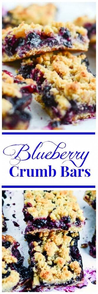Blueberry Crumb Bars Imag
