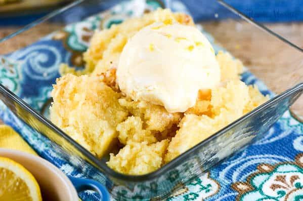 Lemon Spoon Cake