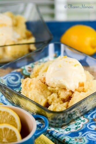 Lemon Spoon Cake