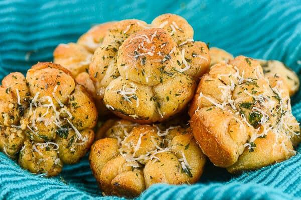 Savory Herb Monkey Bread Rolls - Flavor Mosaic