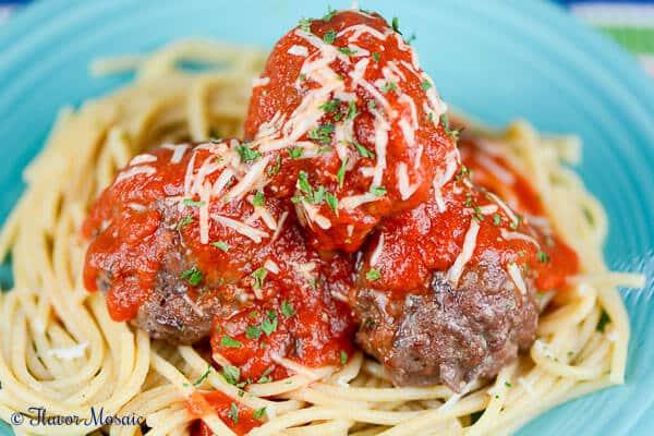 Slow Cooker Italian Meatballs