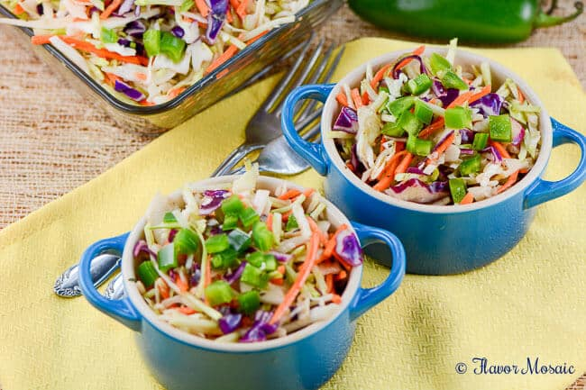 Cajun Honey Jalapeno Slaw