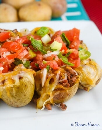 Cheesy Taco Potato Bites Appetizer Recipe