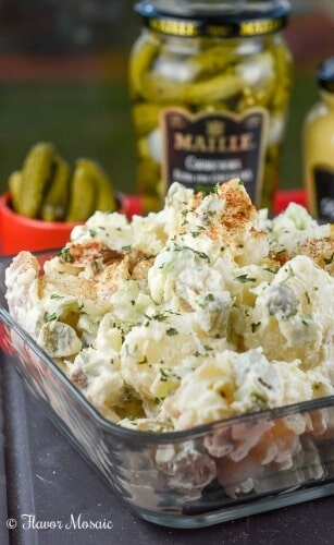 Easy Picnic Potato Salad Recipe