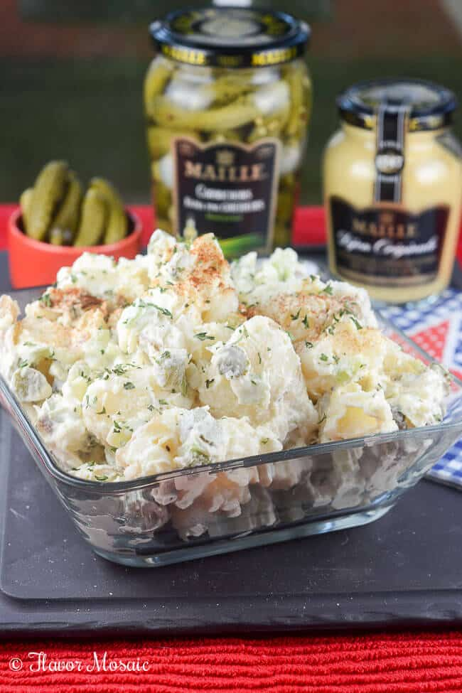 Easy Picnic Potato Salad Recipe