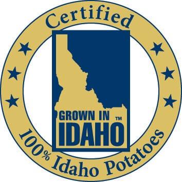 Cheesy Taco Potato Bites Appetizer Recipe Idaho Potato LOGO