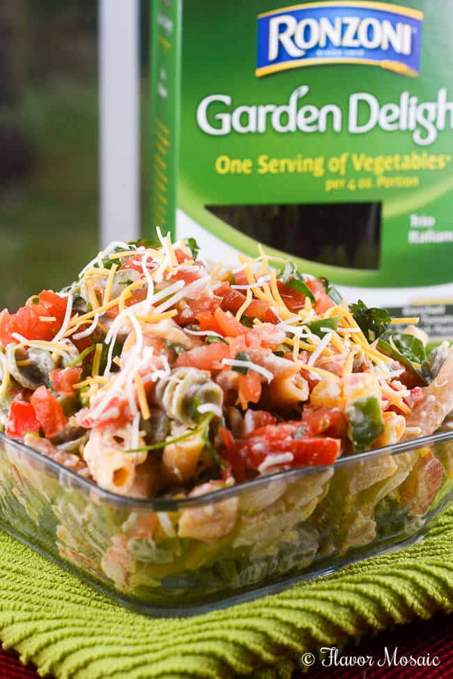 fiesta garden ranch pasta salad recipe