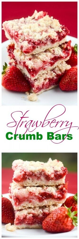 Easy Strawberry-Crumb-Bars Recipe