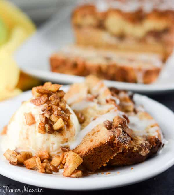 Apple Pecan Cream Cheese Cake recipe