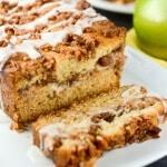 Apple Pecan Cream Cheese Cake
