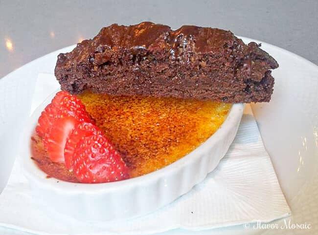 Cafe Adelaide Creme Brulee Restaurant Dessert New Orleans La
