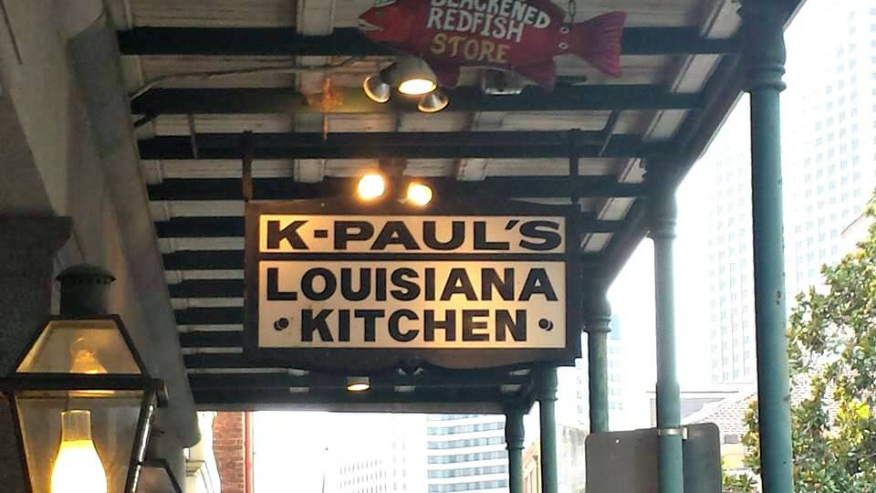 K-Paul's Louisiana Kitchen Restaurant New Orleans La
