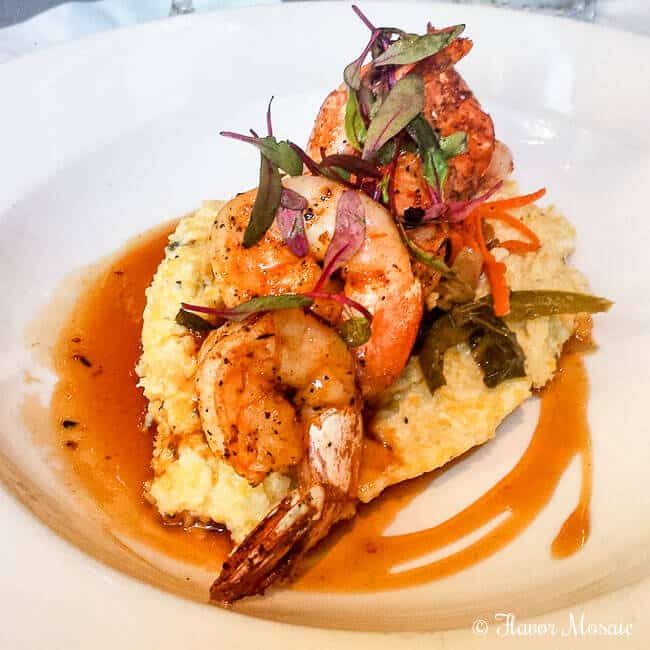 New Orleans East Style BBQ Shrimp from Cafe Adelaide Restaurant is a Cajun BBQ Shrimp with Asian influences