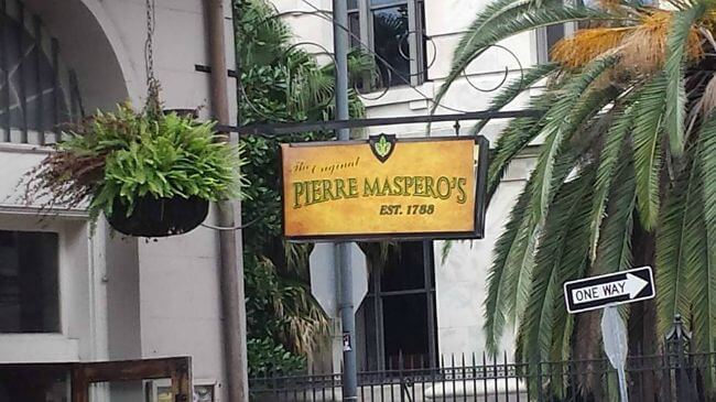The Original Pierre Maspero's best 1788 New Orleans La restaurant