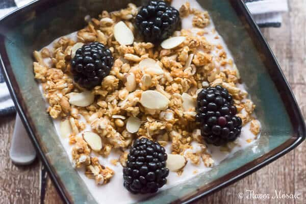 Cherry Berry Cashew Crunch Cereal