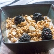 Cherry Berry Cashew Crunch Breakfast