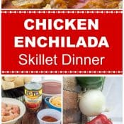 Chicken Enchilada Skillet Dinner Long Pin Flavor Mosaic