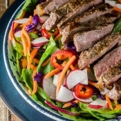 Thai Steak Salad #WeekdaySupper