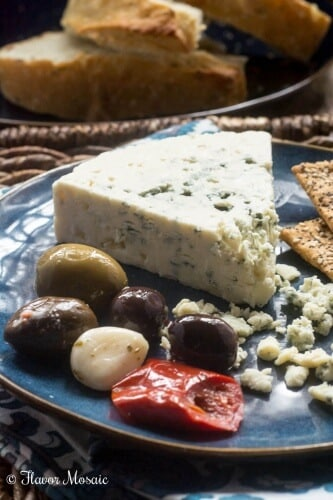 Cheese and Olive plate