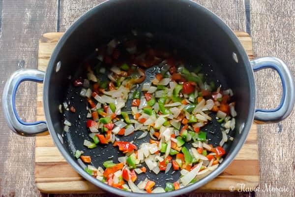 Mediterranean Vegetarian Chili by Flavor Mosaic