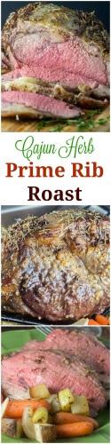 Cajun Herb Prime Rib Roast
