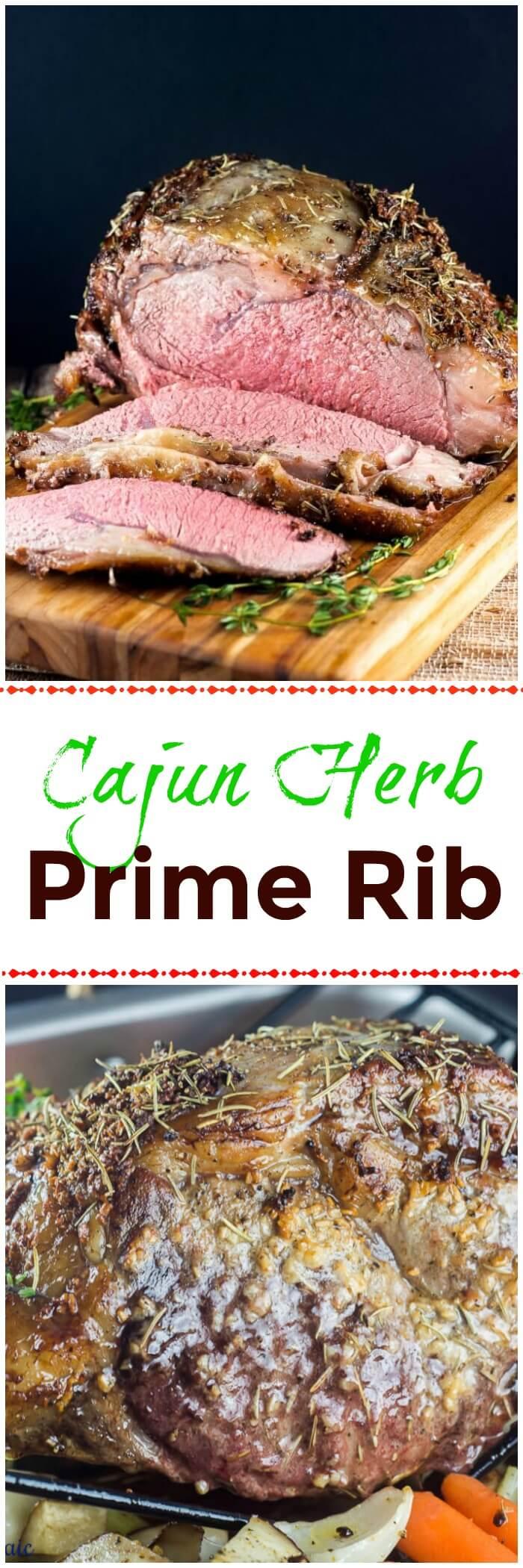 Cajun Herb Prime Rib Ribeye Roast
