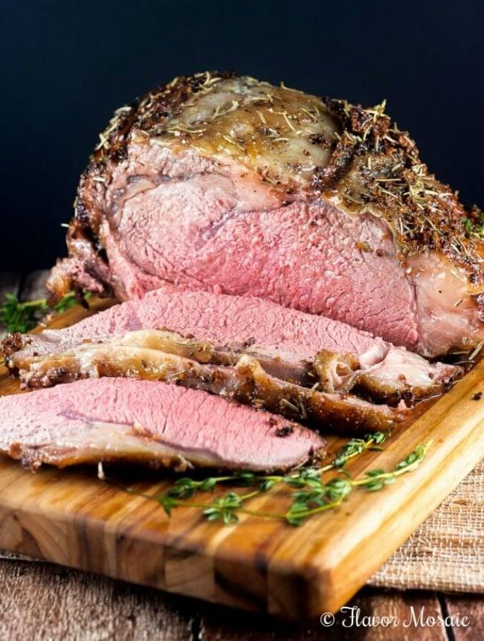 Cajun Herb Ribeye Roast Prime Rib