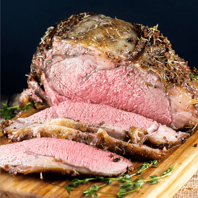 Top 15 Cajun Recipes for Mardi Gras - Cajun Herb Ribeye Roast Prime Rib