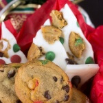 Holiday Chocolate Chip Cookie Bark
