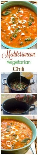 Mediterranean Vegetarian Chili - Long Pin