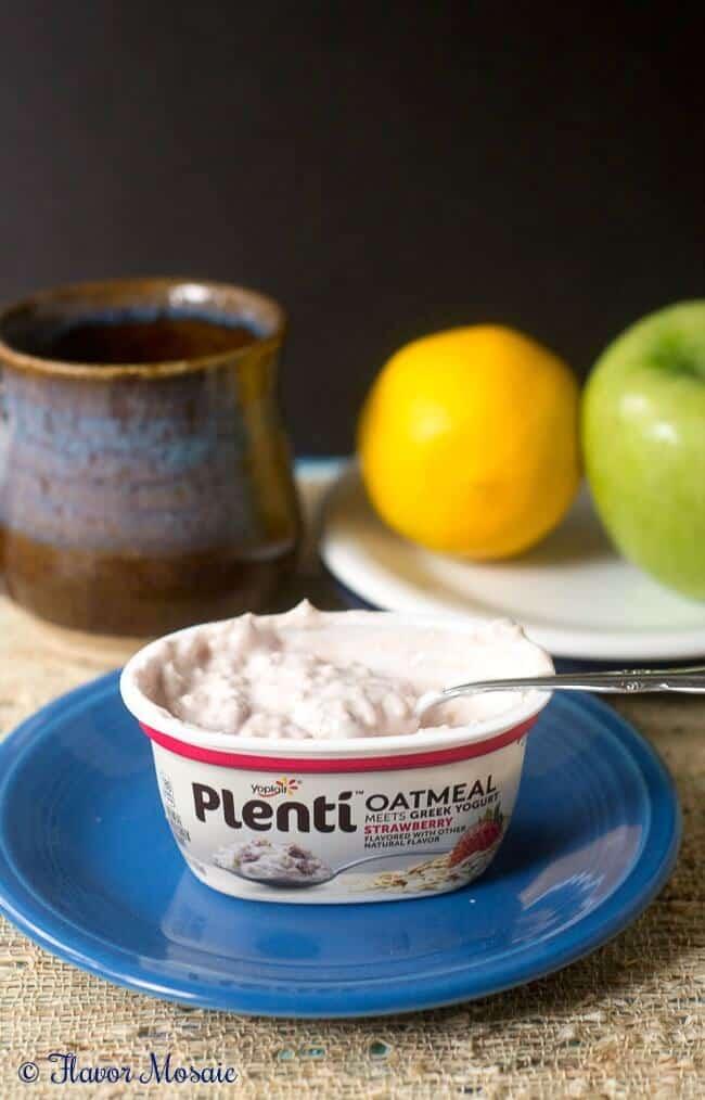 Plenti Oatmeal Meets Greek Yogurt #PlentiYogurt #ad